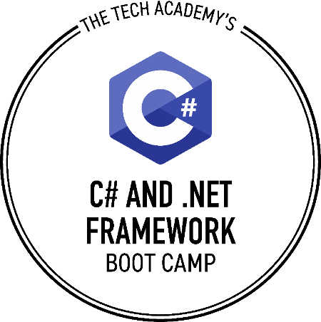 The Tech Academy's Online C# Sharp Coding Boot Camp Logo