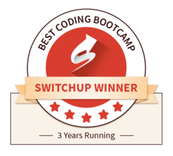switchup.org award for best coding bootcamp